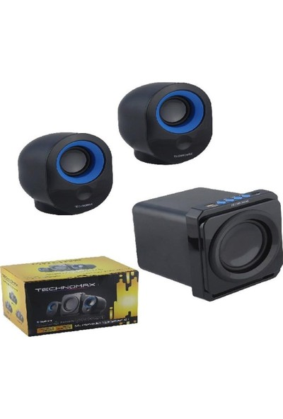 Technomax TM-2031 2+1 Multimedia Speaker