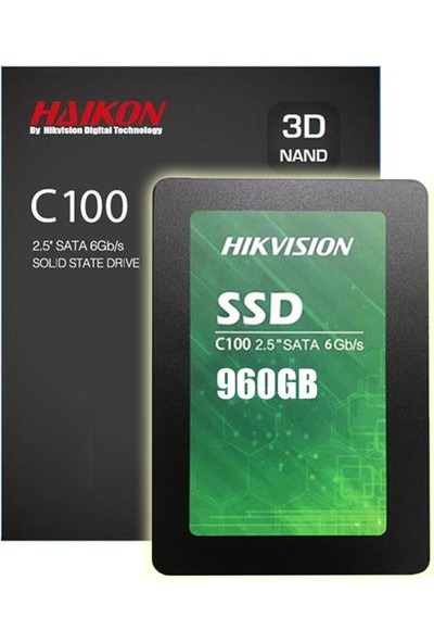 Hikvision 960GB 560MB-500MB/s SATA 3 SSD HS-SSD-C100/960G