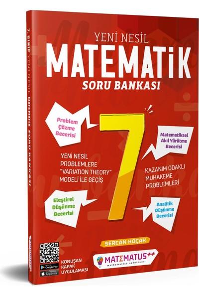 Matematus Yayınları Matematik 7.Sınıf Yeni Nesil Soru Bankası