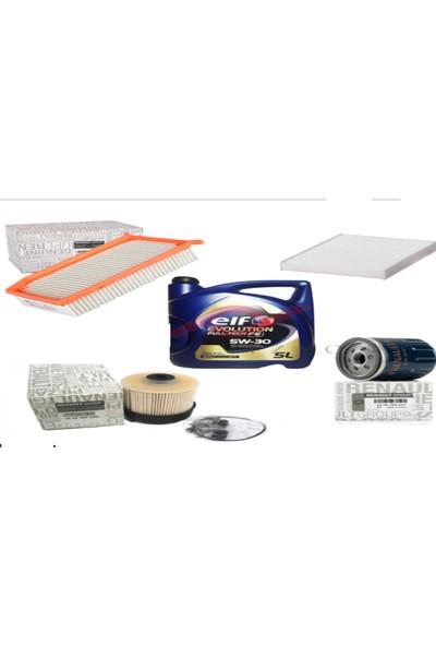 Clio 4 Bakım Seti Yağ/ Filtre