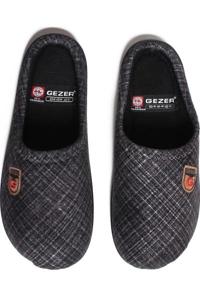 Gezer 11987 Erkek Terlik Kışlık Yıkanabilir Ev Terliği