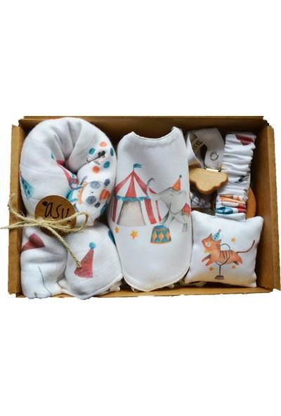 Asu Baby&Kids Circus Organik Müslinli Bebek Kiti