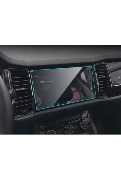 """Cayka Skoda Kodiaq Karoq 9"""" Navigasyon Nano Ekran Koruyucu"""