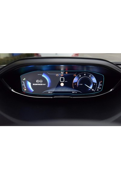 Cayka Peugeot 3008 3008GT 4008 5008 - 2017 / 2018 Model Gösterge Paneli Nano Ekran Koruyucu