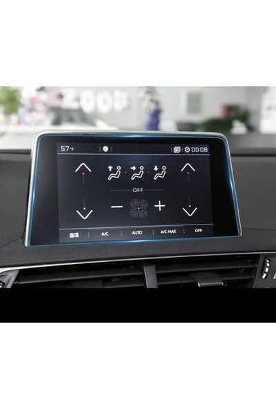 Cayka Peugeot 3008 3008GT 4008 5008 2017 2018 Model Navigasyon Nano Ekran Koruyucu