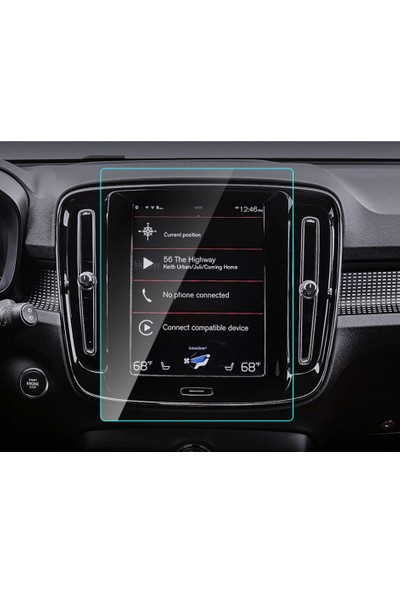 "Cayka Volvo XC40 XC40 - 2018 / 2019 8.7"" Navigasyon Nano Ekran Koruyucu"