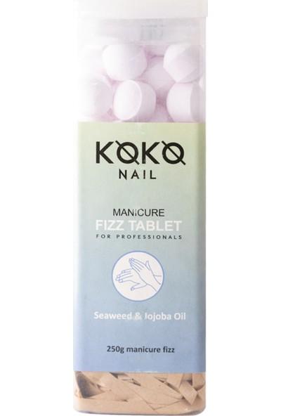 Koko Nail Manikür Suda Bekletme Tablet Deniz Yosunu - Jojoba Yağı 250 gr