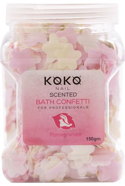 Koko Nail Kokulu Banyo Konfeti Nar 150 gr