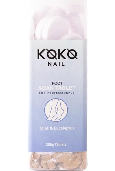 Koko Nail Pedikür Suda Bekletme Tablet Nane&okaliptüs 250 gr