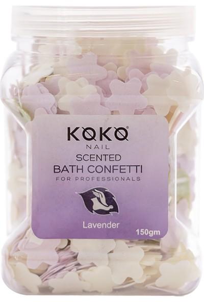 Koko Nail Kokulu Banyo Konfeti Lavanta 150GR