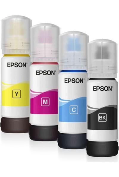 Epson Ecotank L3160 L5190 L6190 4 Renk Mürekkep Kutusuz