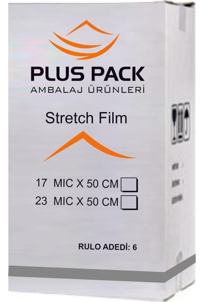 Pluscopy Pack Streç Film 23 Micron 50 cm 300 mt 6 Adet