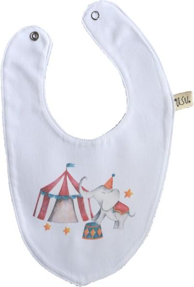 Asu Baby&Kids Circus Organik Bambu Önlük