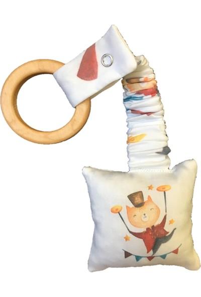 Asu Baby&Kids Circus Organik Diş Kaşıyıcı