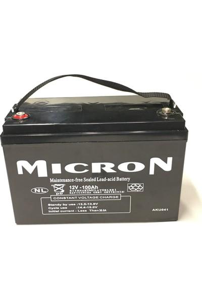Micron 12V 100A Kuru Bakımsız Akü