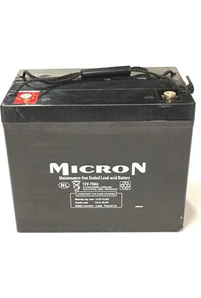 Mıcron 12V 70A Kuru Bakımsız Akü