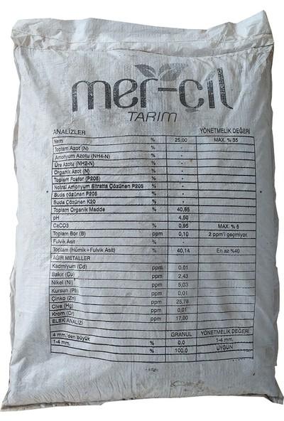 Mer-Çil Leonardit Toprak Düzenleyici Gübre Toz 25 kg