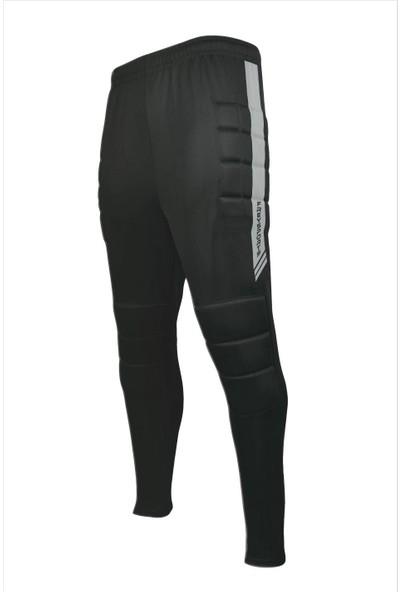 FreySport Profesyonel Süngerli Kaleci Pantolonu (Siyah Beyaz)