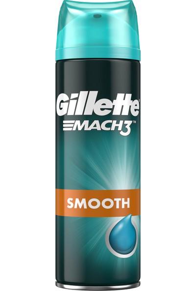 Gillette Mach3 Yakın ve Pürüzsüz Tıraş 200 ml Tıraş Jeli