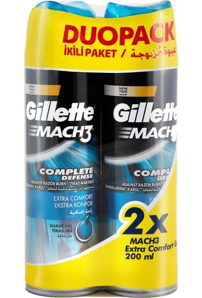 Gillette Mach 3 Ekstra Konfor Jel 200 ml