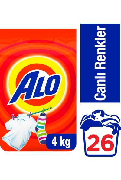 Alo 4 kg Toz Çamaşır Deterjanı Canlı Renkler