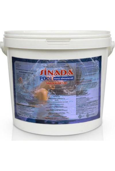 Sinada Toz Klor %90 25Kg Havuz Kimyasalı