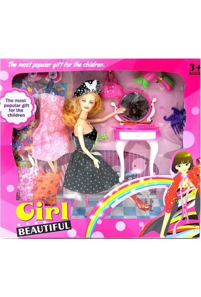 Can Ali Toys Girl Yedek Elbiseli Bebek