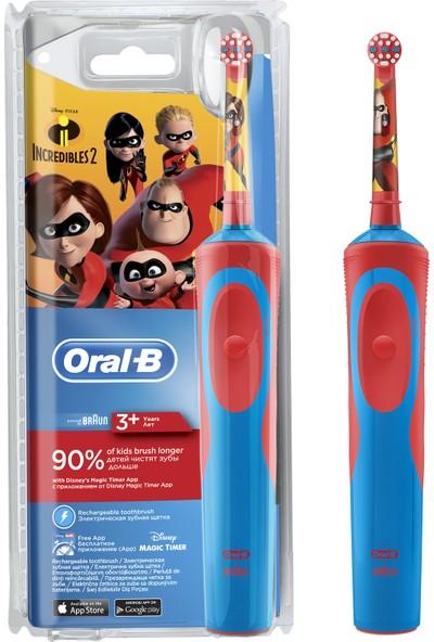 Oral B İncredibles 2 Çocuklar İçin Şarj Edilebilir Diş Fırçası 3+ Yaş