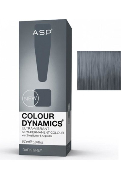 Affinage Asp Colour Dynamics Dark Grey Yarı Kalıcı Saç Boyası