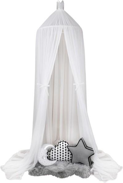 Dona De Miel Nima Beyaz Dekoratif Cibinlik