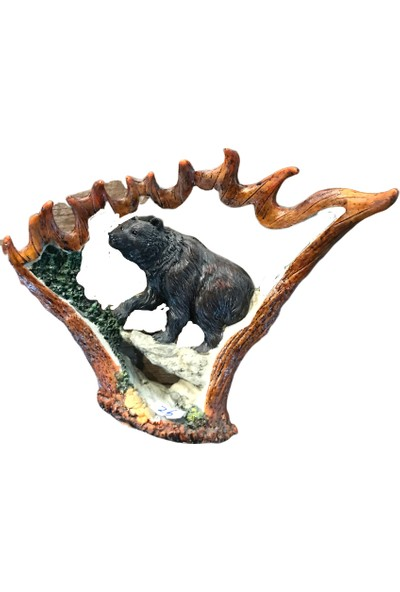 Alpin Ayı Biblo Figür Heykel Obje