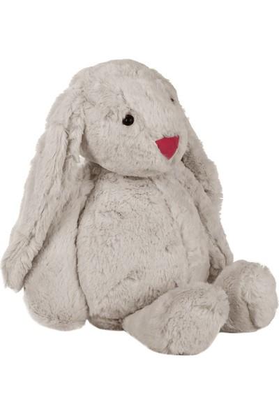Dona De Miel Cute Gri Tavşan Peluş Oyuncak