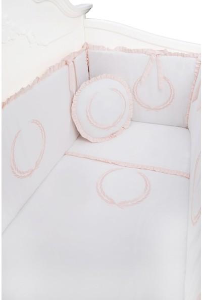 Dona De Miel Anillo Elegante Nakışlı Uyku Seti