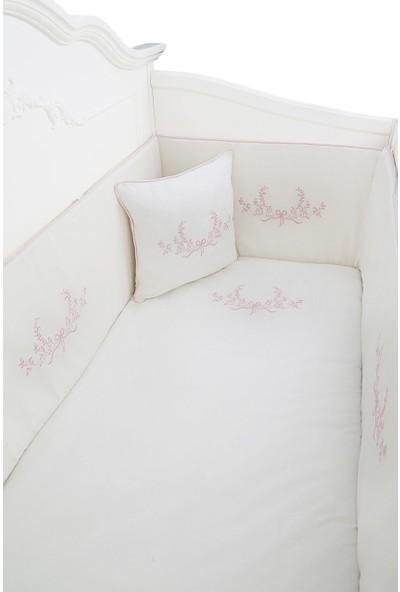 Dona De Miel Hermosa Flor Nakışlı Uyku Seti