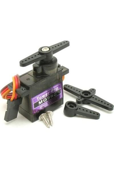 Robot Diyarı MG90S Servo Motor Metal Dişli