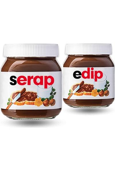 Nutella İsme Özel 2 Adet 630 gr
