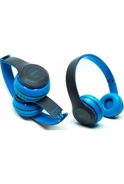 Blue Inter P47 Bluetooth Kulaklık 5.0 - Mavi