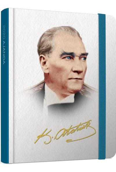 Gıpta 145-Akk Atatürk 9X14 Haftalık Ajanda+Defter