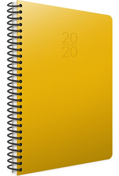 Gıpta 2020 Haftalık Ajanda Spiralli 20X28 Sert Kapak 422-Sek