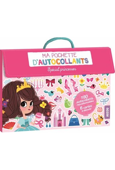 Ma Pochette D'autocollants: Princesses