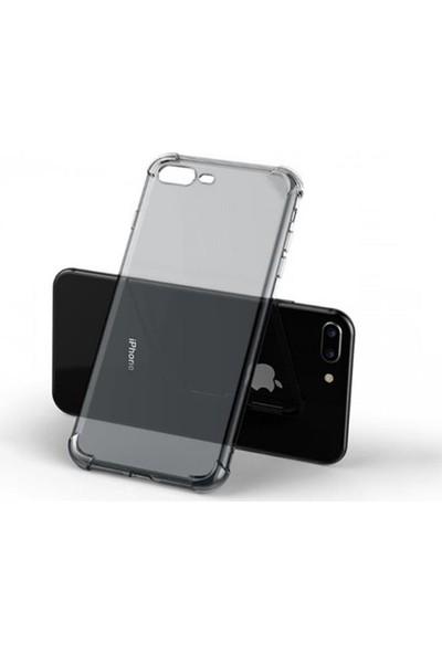 Ugreen Apple iPhone 7/8 Şeffaf Silikon Telefon Kılıfı Siyah