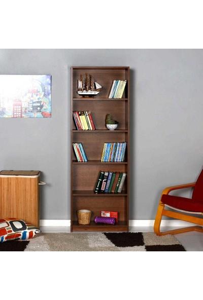 Adore Max 5 Raflı Kitaplık - Ceviz