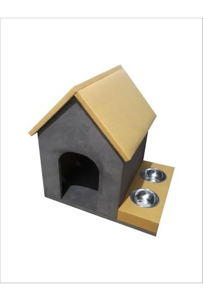Zigana Pet Kedi Tırmalama 45 x 56 x 52 cm İç Mekan Köpek Evi