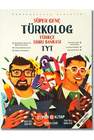 Süper Kitap Yayınları TYT Türkçe Türkolog Soru Bankası