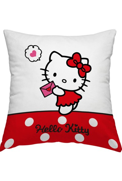 Zorluteks Lisanslı Hello Kitty Team Kırlent