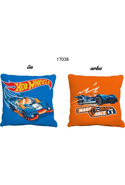 Zorluteks Lisanslı Hot Wheels Team Kırlent
