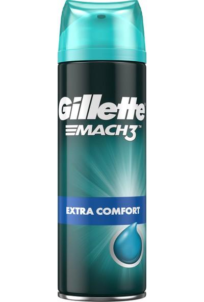 Gillette Mach3 Ekstra Konfor 200 ml Tıraş Jeli