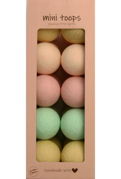 Mini Toops Lovely Sweets Işıklı Top Aydınlatma