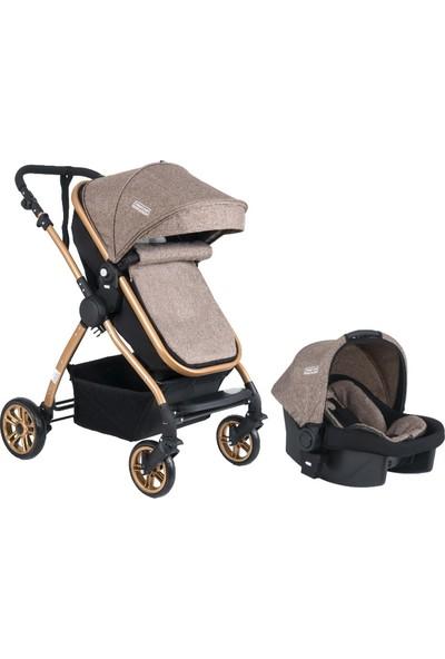 Tommybaby Handytravel Seyahat Sistem Bebek Arabası - Kahverengi