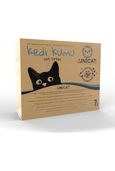 Unicat Kedi Kumu Doğal Aktif Karbonlu 7 l